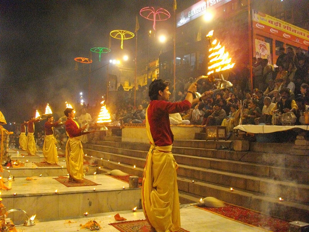 Aarti at Dashashwamedh_ghat