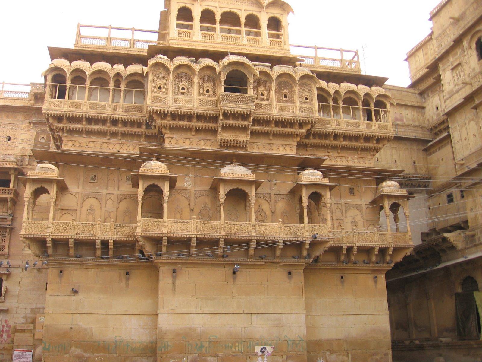 Jaisalmer fort- Raja's Haveli