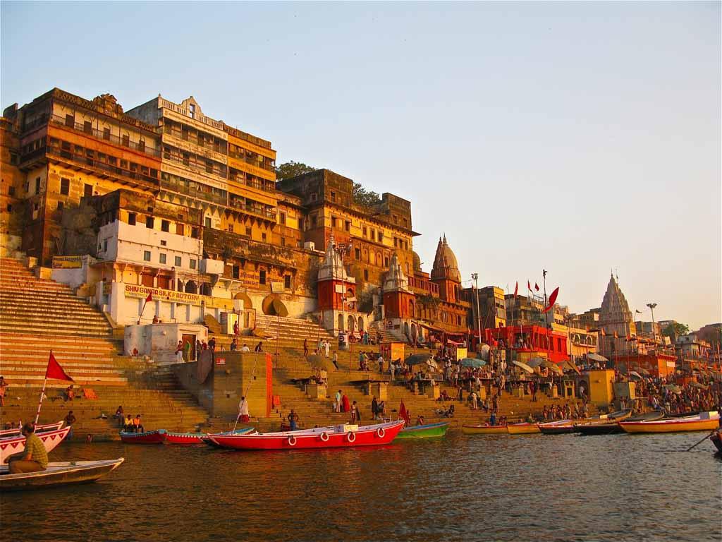 Ganges Ghat Varanasi